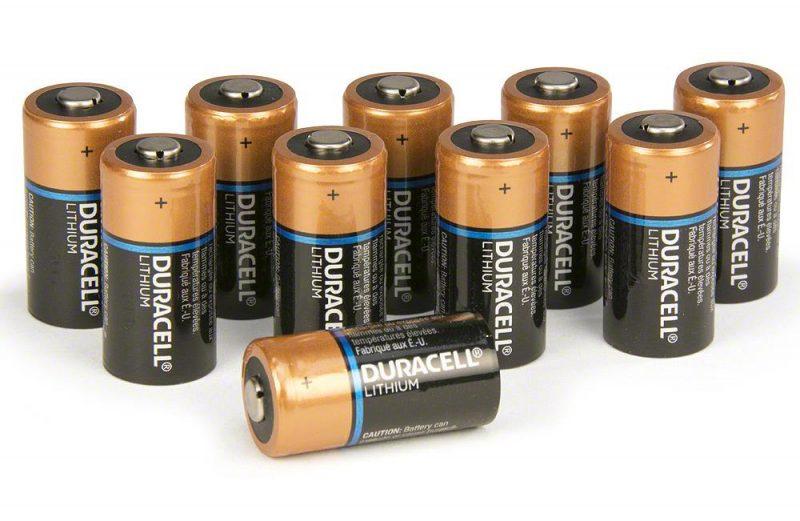 Zoll OED Cihazı İçin Lityum Pil (10 adet Duracell)