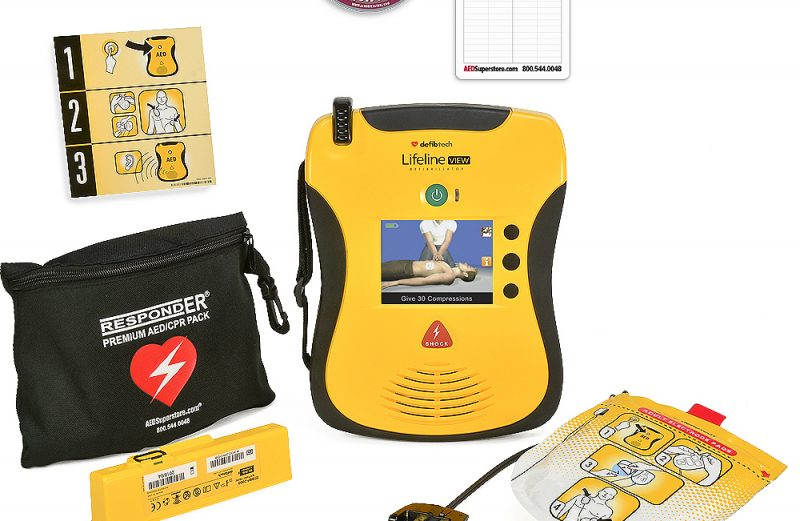 Defibtech Lifeline VIEW Modeli OED Cihazı