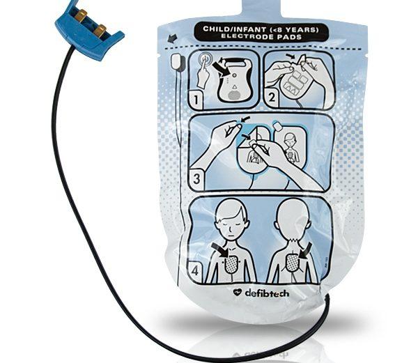 Defibtech Lifeline VIEW/ECG/PRO Modelileri İçin Ped [Çocuklar için]