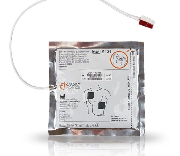 Cardiac Science OED Cihazı Elektrod Pedi [Yetişkinler İçin]