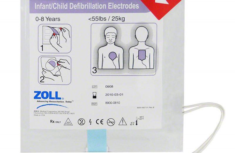 Zoll OED için Pediatrik Elektrod Pedi